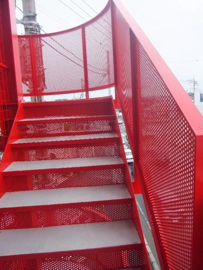 レッドの階段